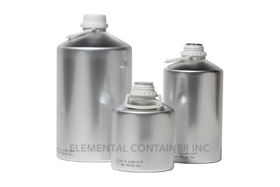 Elemental Container Industrial Aluminum Bottles Amp Cans