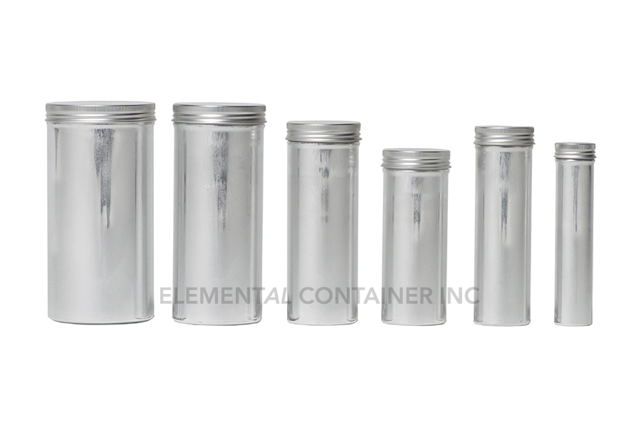 Aluminum Screw Cap Cans