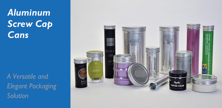 Aluminum Screw Cap Cans - A Versatile and Elegant Packaging Solution